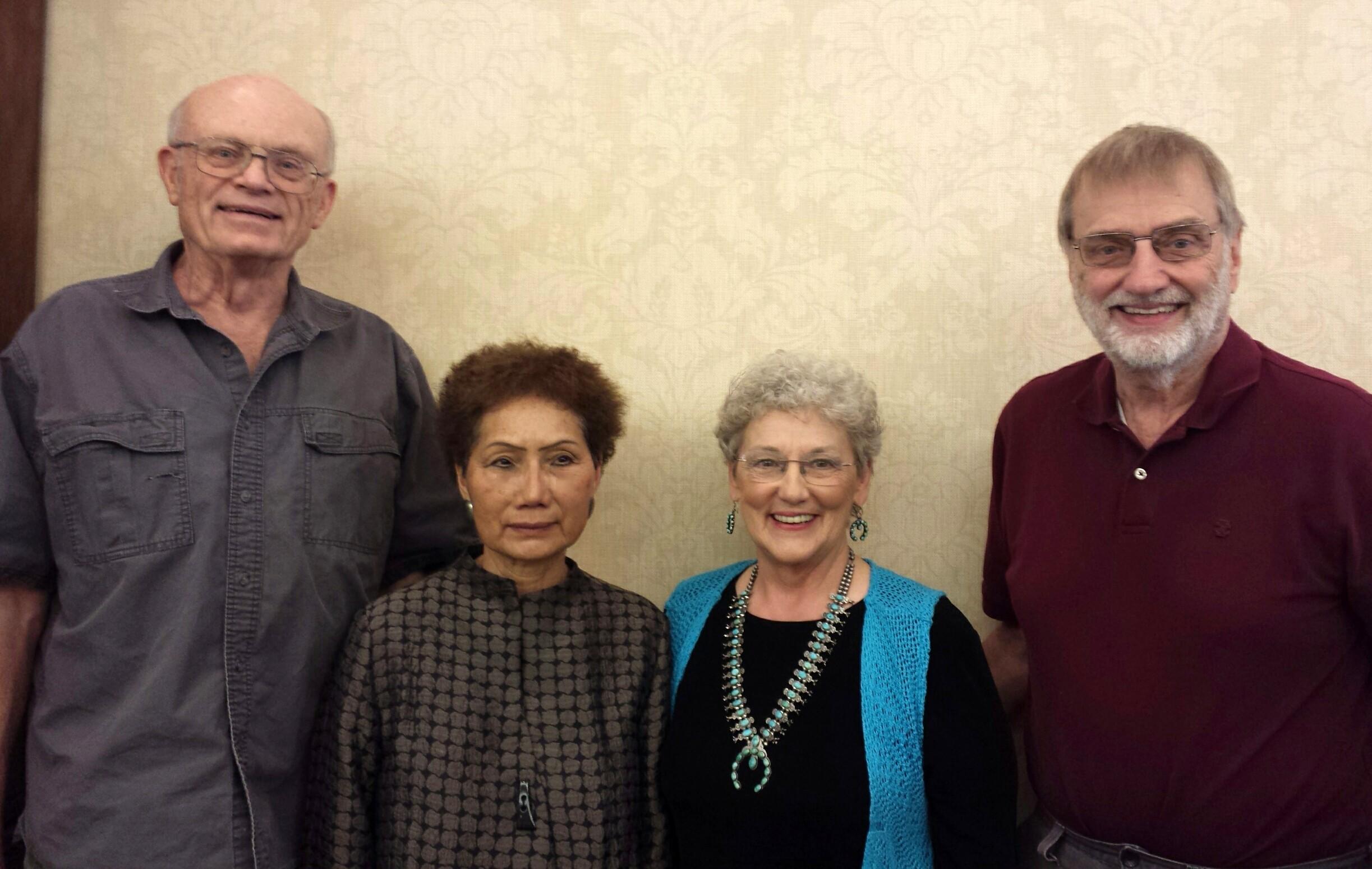Allen Kane, En Hay, Peggy and Bob Craig