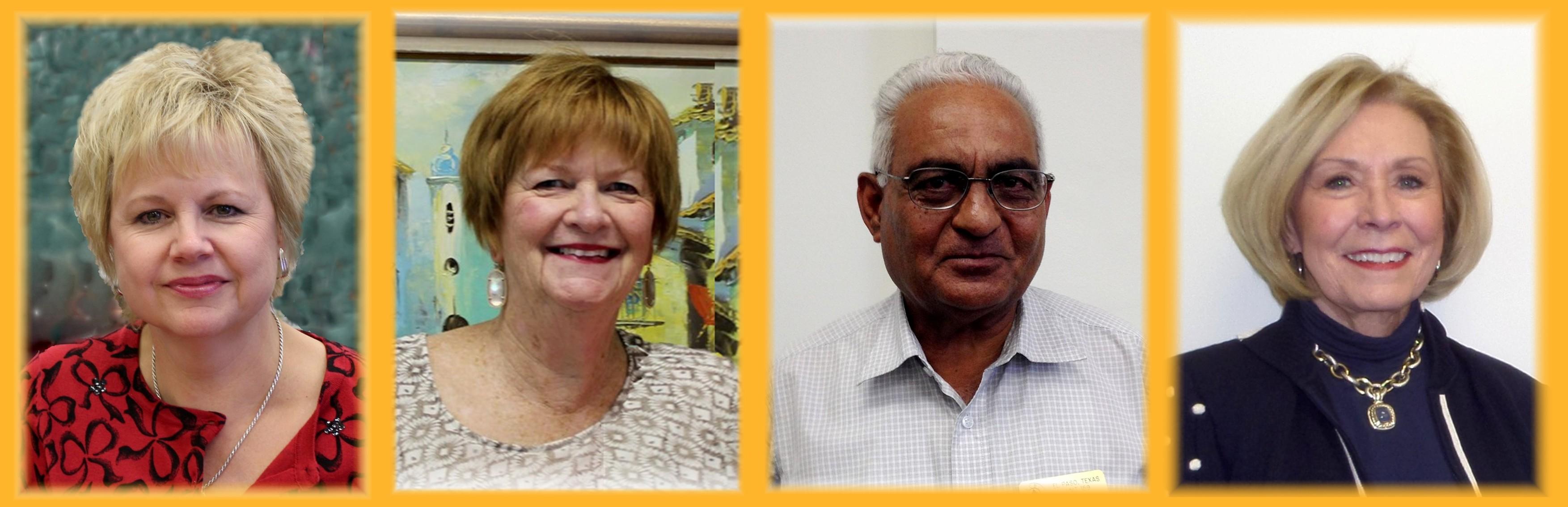 Polly Vaughn, Pat Hotaling, Ashok Bhakta, Pat Lama
