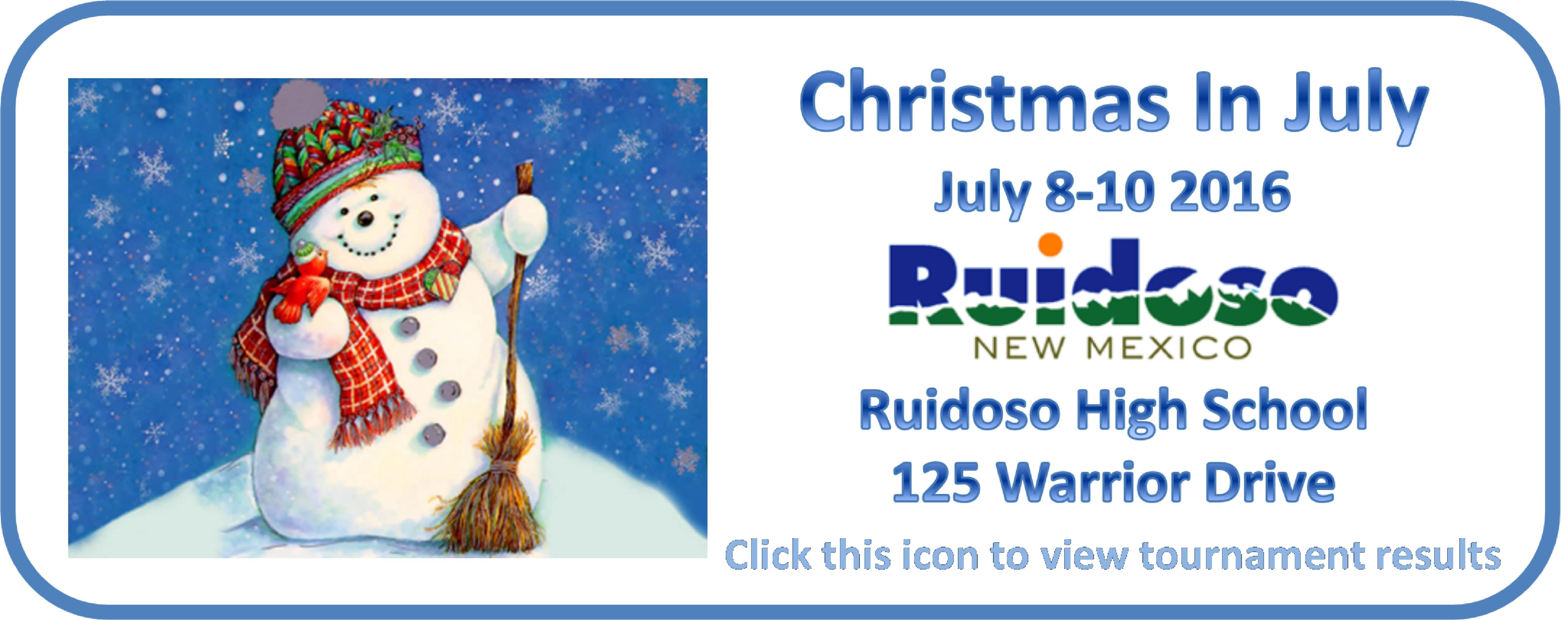 Ruidoso 7-8-10 2016 results