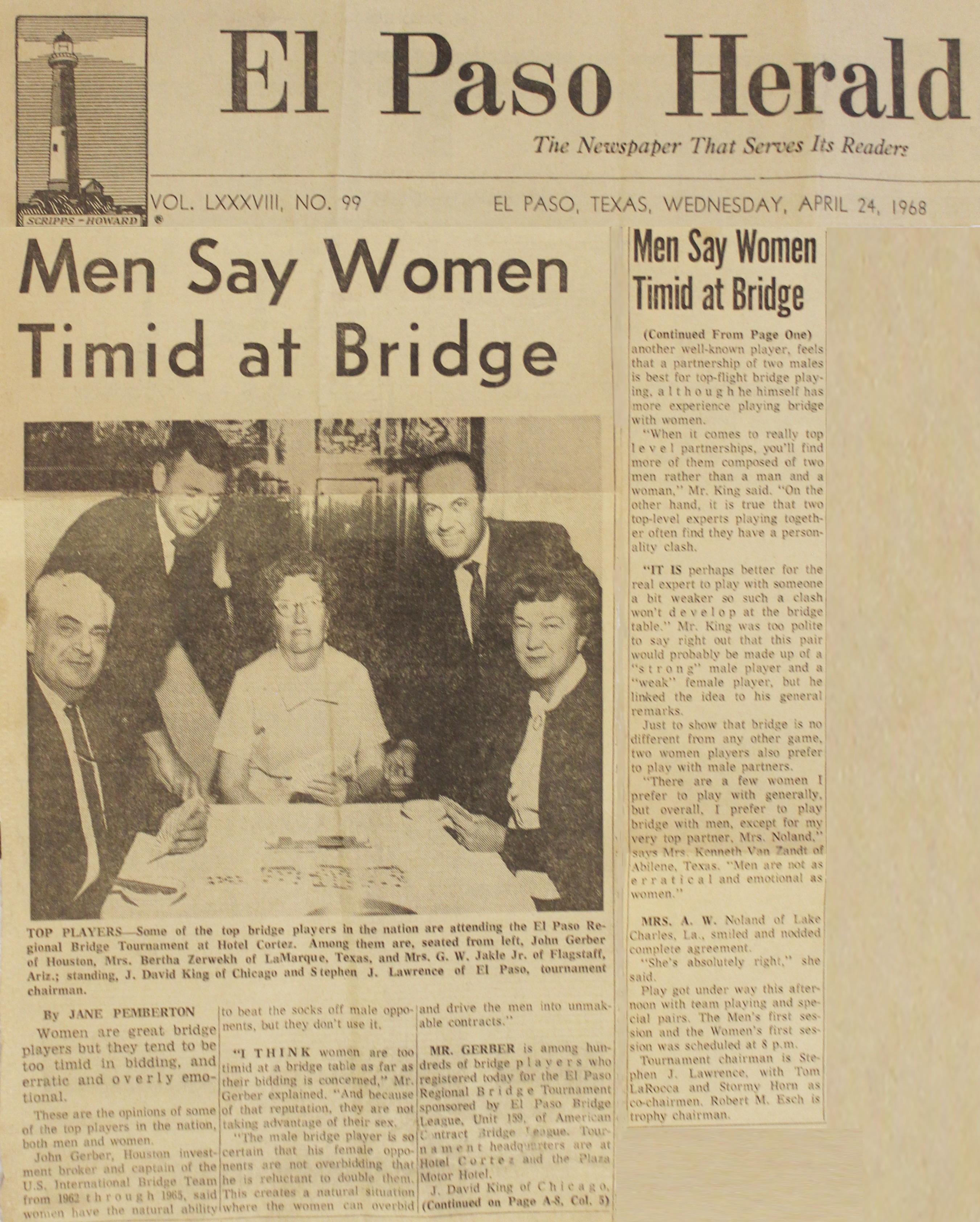 History with John Gerber 1968