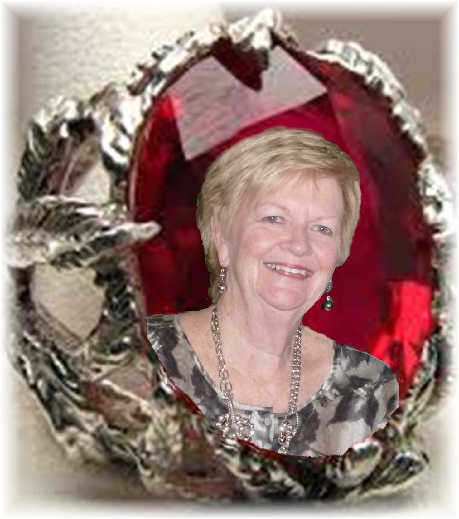 Pat Hotaling in ruby ring