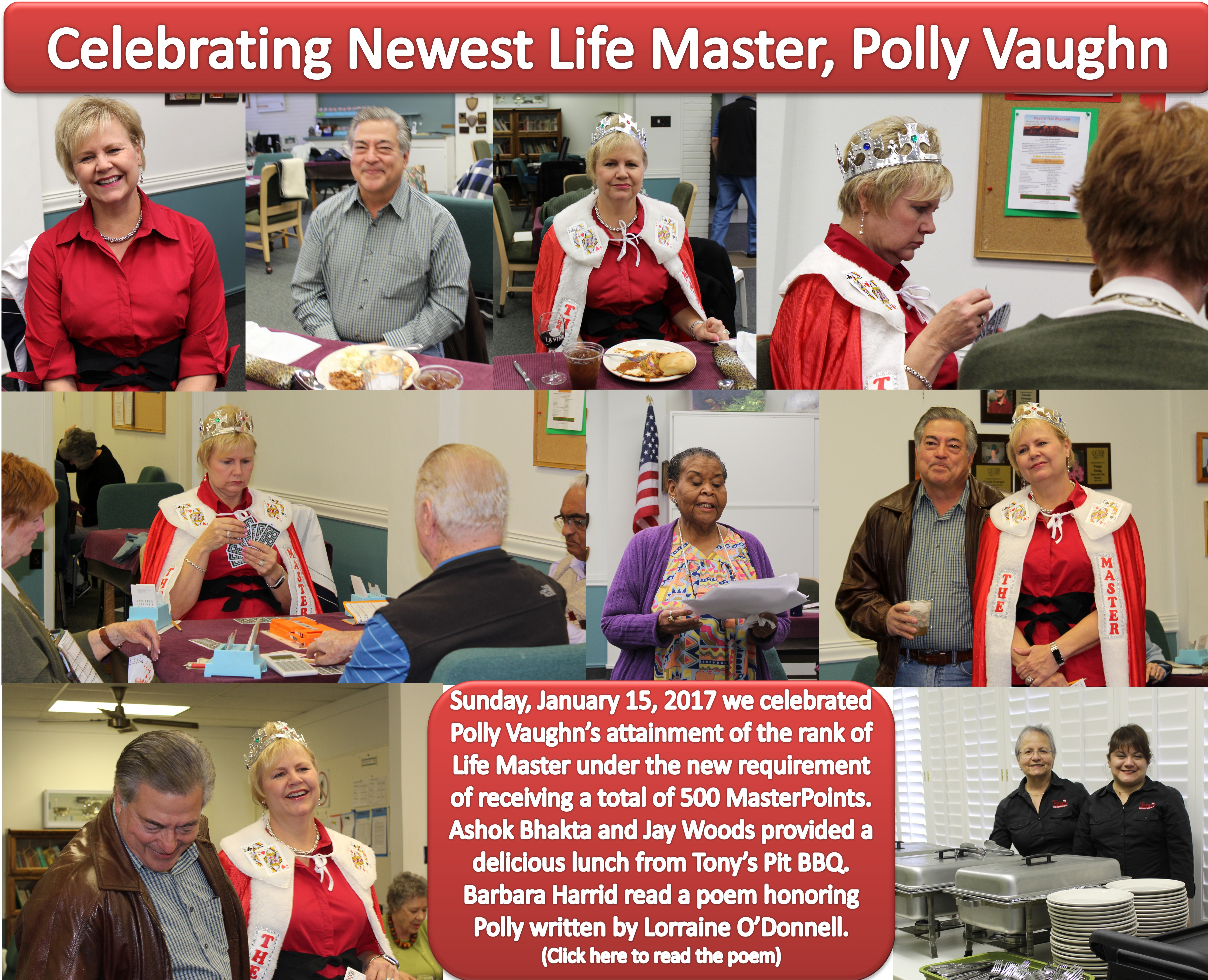 Polly Vaughn's party